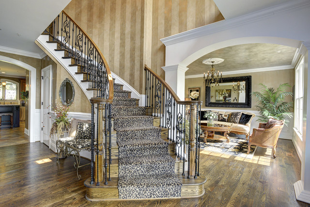 Brookville Lakes traditional-staircase