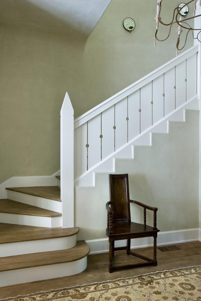 Tuscan staircase photo in Atlanta