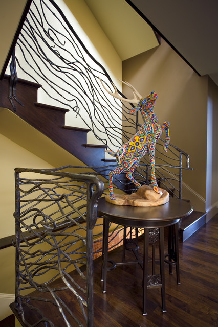 Buena Vista House Staircase contemporary-staircase