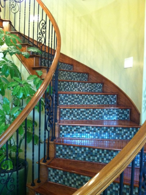 Built-ins, staircase, ect. traditional-staircase