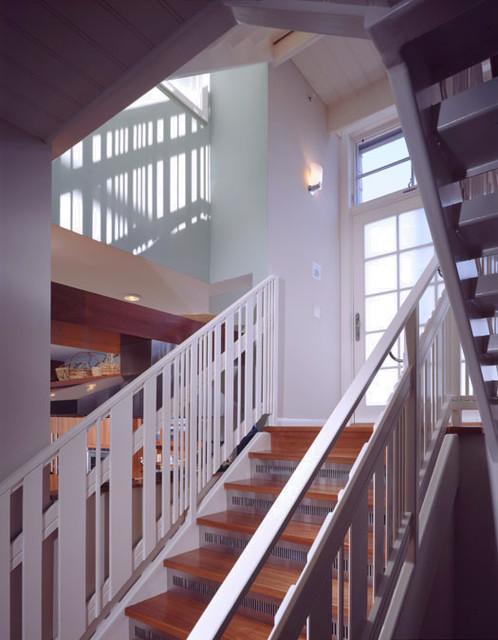 Burke Residence modern-staircase