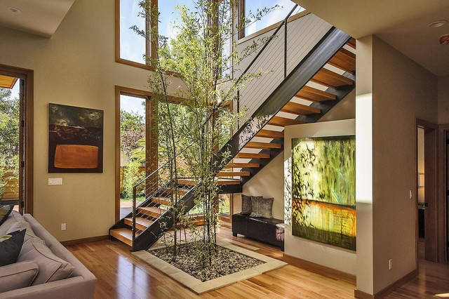 modern staircase by CleverHomes presented byToby Long Design