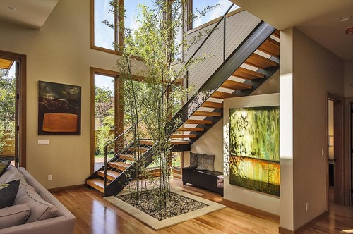 open riser staircases