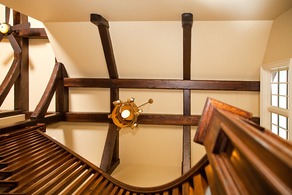 Burlington Eclectic traditional-staircase