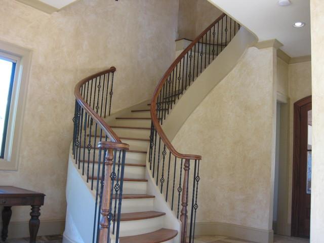 Cabana @ The Manor, Milton, GA mediterranean-staircase