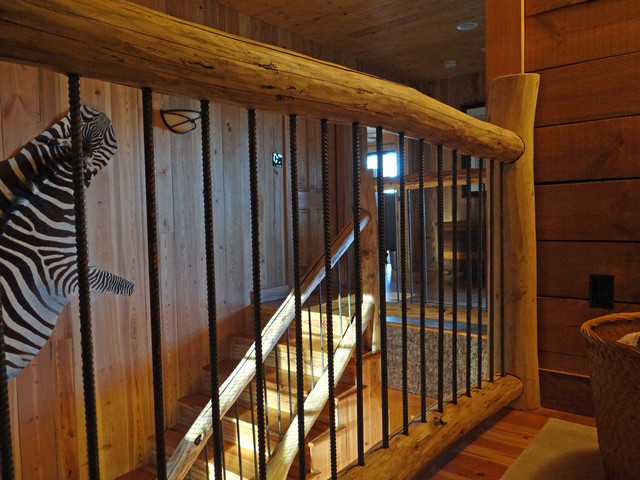 Cabin At Little Pine Marshall N C Staircase