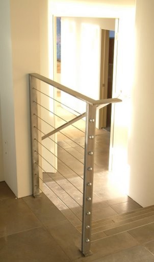 Cable Railings contemporary-staircase