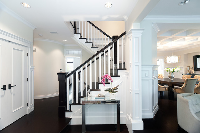 Cambridge Street Residence traditional-staircase