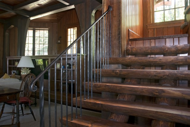 Campbell traditional staircase
