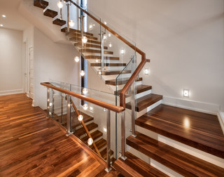 Canal Homes Contemporary Staircase Ottawa By Roca Homes