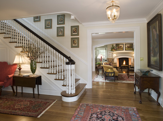 Canary Cottage traditional-staircase
