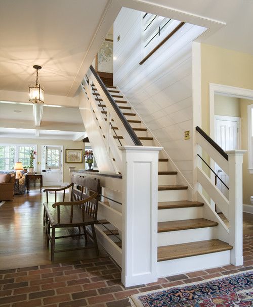 "Houzz Home Design Ideas: What Is The Black ""bead"" In The Stair Railing?"