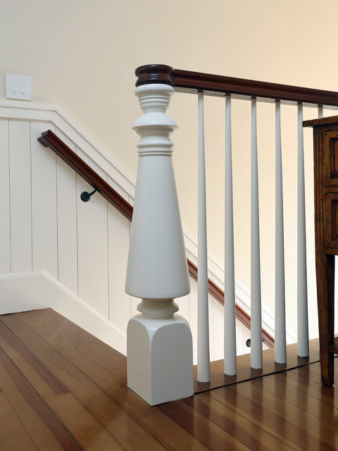 Cape Cod Beach Home Rebuild Beach Style Staircase