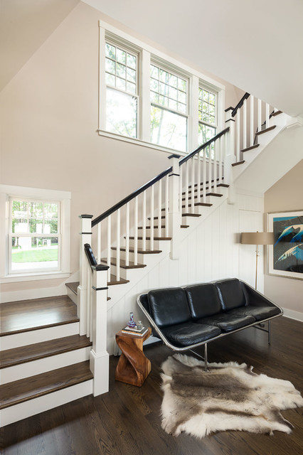 Cape Porpoise Residence transitional-staircase