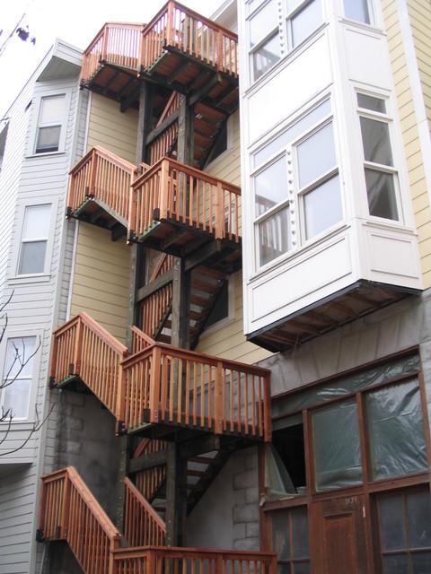 Carl street staircase