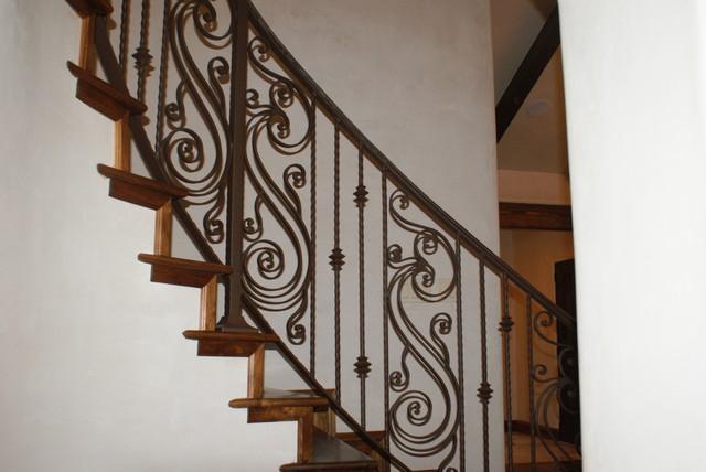 Carmel, California mediterranean-staircase