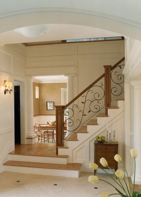 Carriage House traditional-staircase