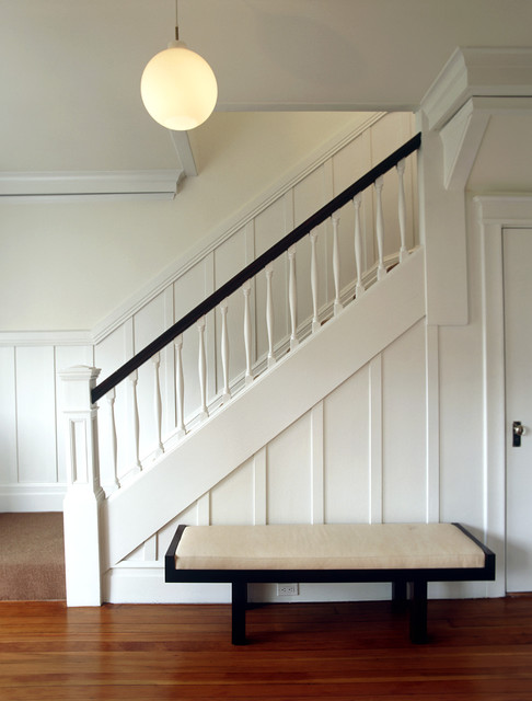 Cary Bernstein Architect Eureka Valley Residence transitional-staircase