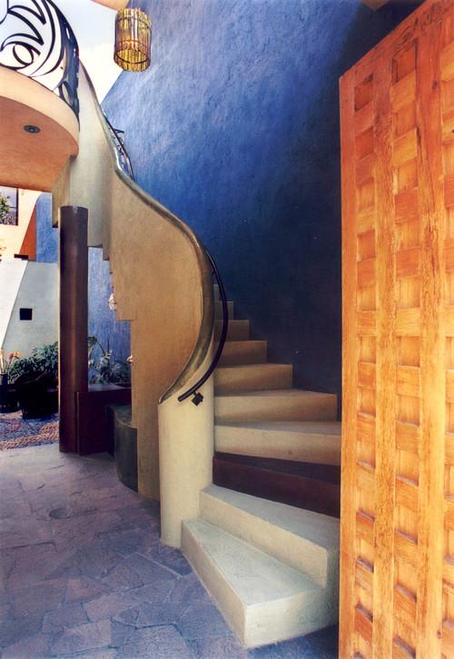 Casa de las Estrellas contemporary staircase
