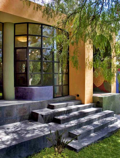 Casa Renacimiento eclectic staircase