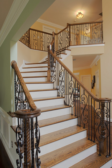 Case Design Remodeling Inc Traditional Staircase