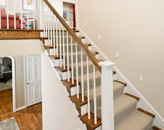 Case Design/Remodeling, Inc. traditional staircase
