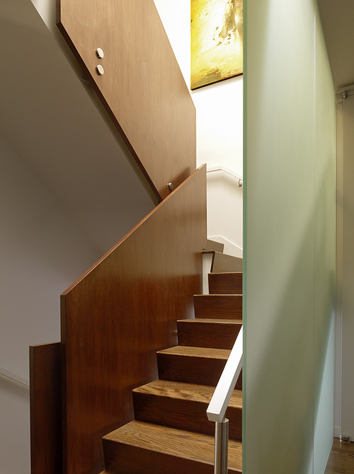 Schwartz and Architecture modern staircase
