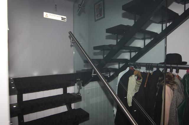 Castle Farm contemporary-staircase