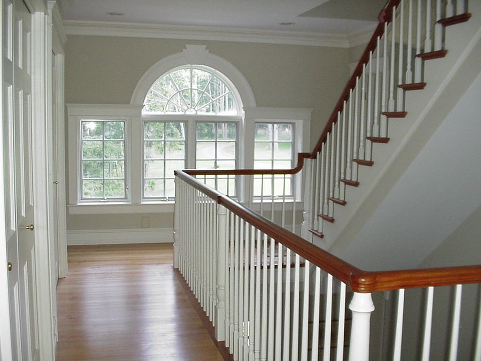 Cch Interior Details Traditional Staircase Boston By Classic Colonial Homes Inc