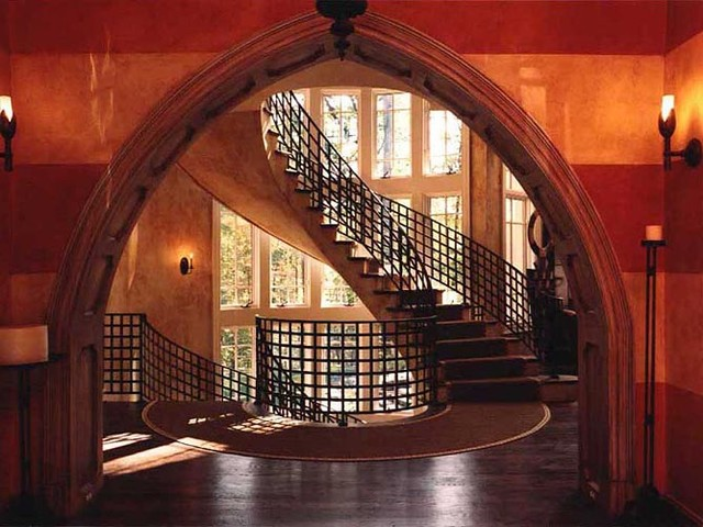 Celtic Castle Contemporary Staircase Dc Metro By