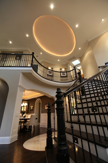 Center Street El Segundo Ca Traditional Staircase Los Angeles By Tomaro Design Group