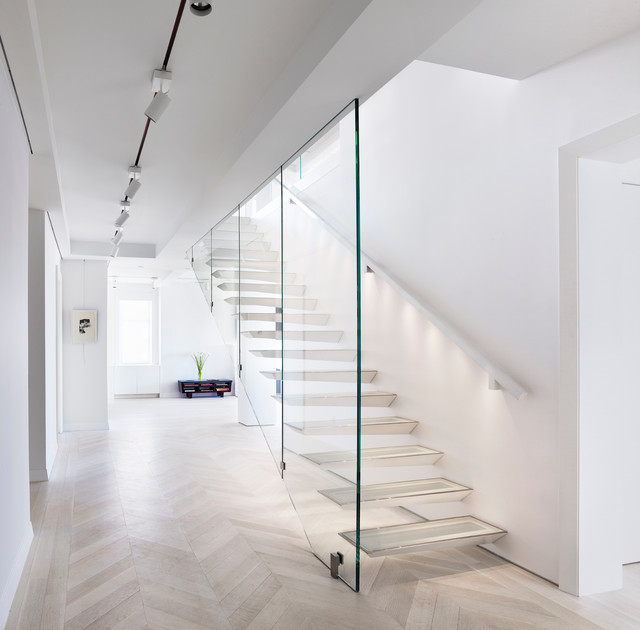 ... West Renovation - Contemporary - Staircase - New York - by HOBBS INC