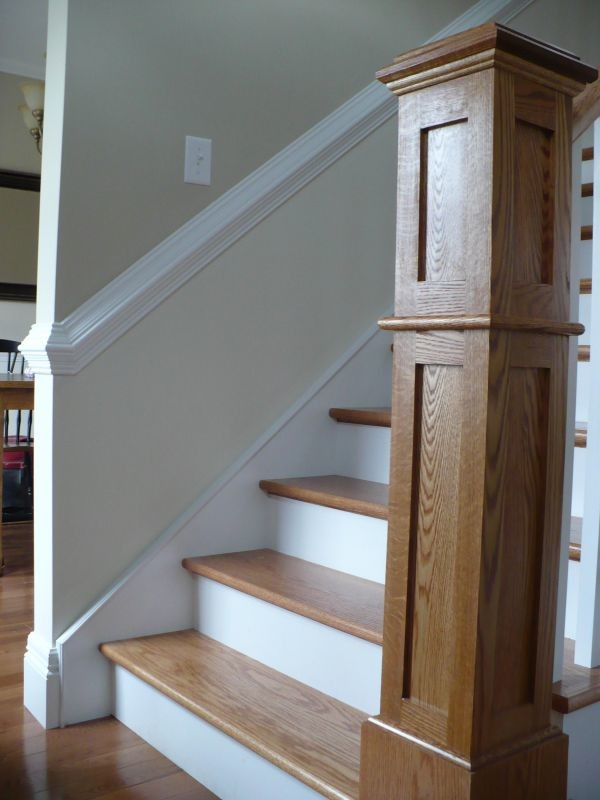 Chair Rail - Traditional - Staircase - Other - by Vintage ...