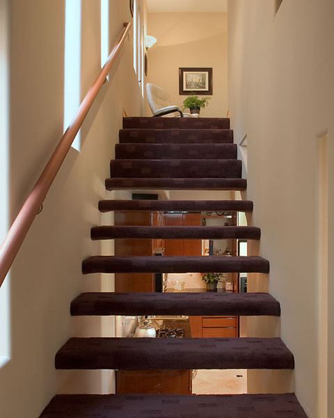 Chalcedony contemporary-staircase