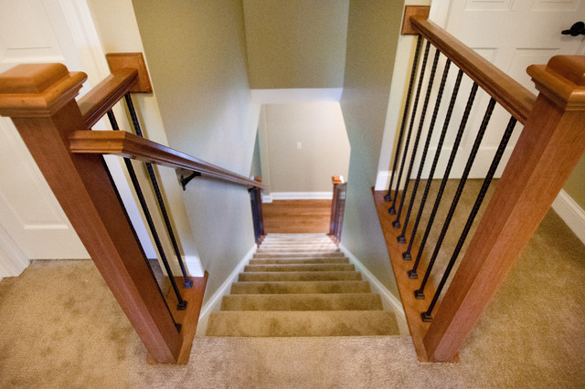 Chanhassen Main Floor Remodel traditional-staircase