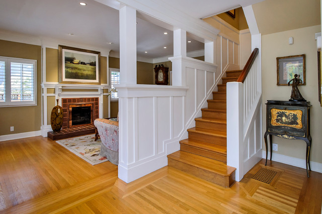 Chapin Road traditional-staircase