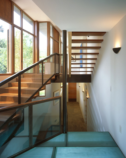 Charles Rose Architects Inc. contemporary-staircase
