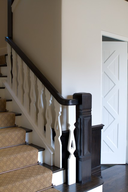 Charmean Neithart Interiors, LLC. traditional-staircase