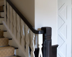 Charmean Neithart Interiors, LLC. traditional staircase