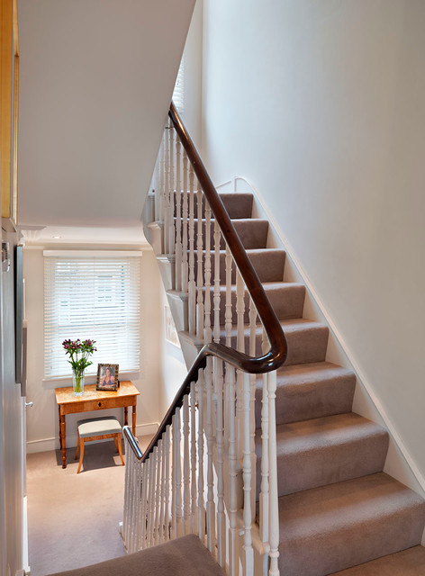 Chelsea house reinvented victorian staircase london for Victorian spiral staircase