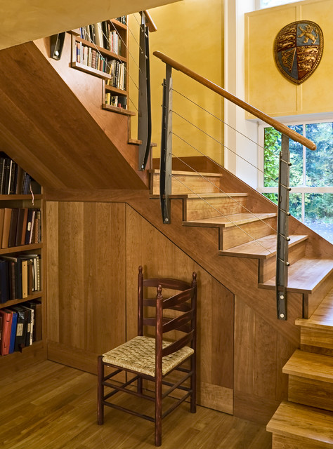 Cherry Staircase contemporary-staircase