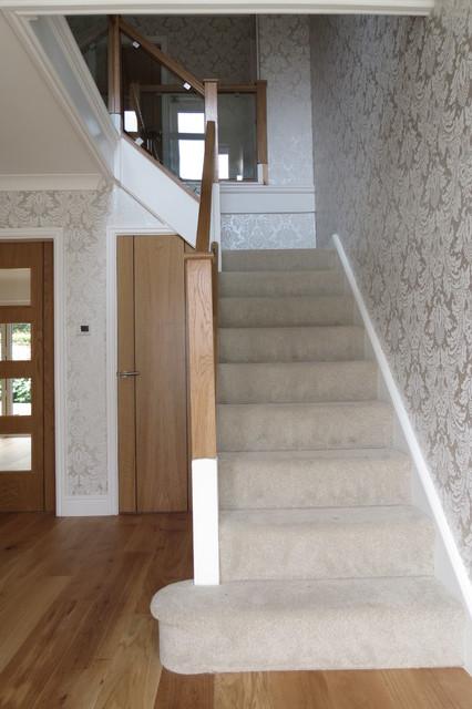 Chester House Refurbishment contemporary-staircase