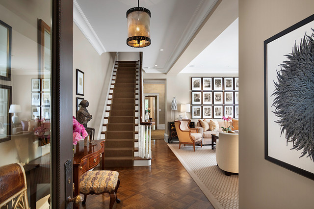 Jamie Foyers Traditional : Chicago greystone traditional staircase by