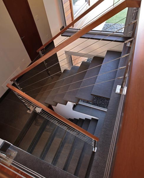 Chilliwack House modern-staircase