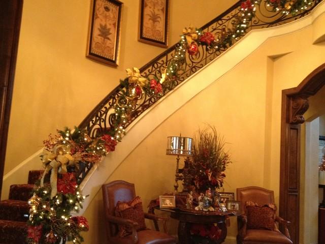 classic staircase in dallas