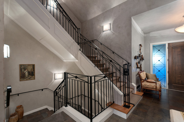 Christopherson Road contemporary-staircase