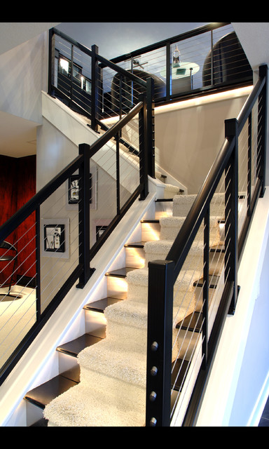 Cindy Friend Design contemporary-staircase