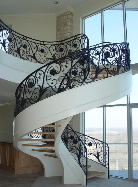 Circular Stair modern-staircase