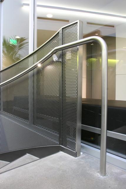 Circular Stairs modern-staircase