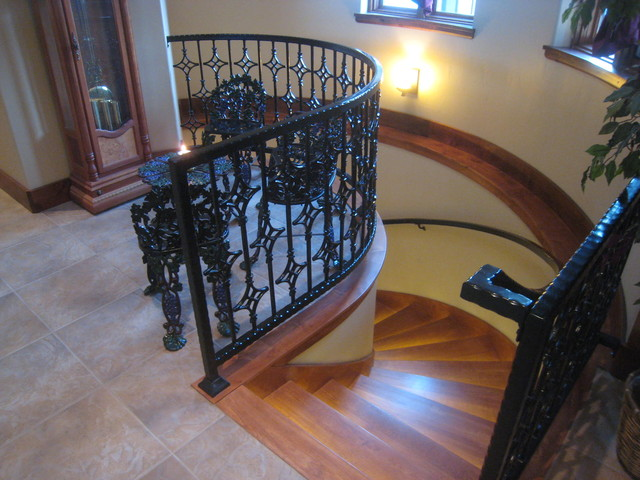 Claremont Drive traditional staircase